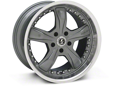 Gunmetal Shelby Razor Wheel - 18x10 (94-04 All)