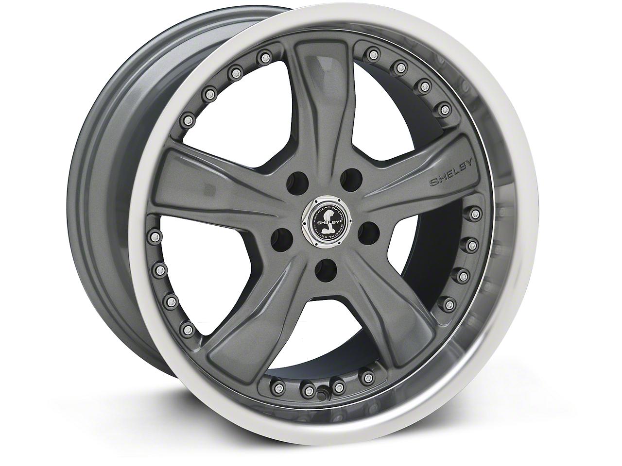 Shelby Razor Gunmetal Wheel - 18x10 (94-04 All)