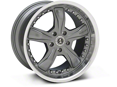 Gunmetal Shelby Razor Wheel - 18x10 (05-14 GT, V6)