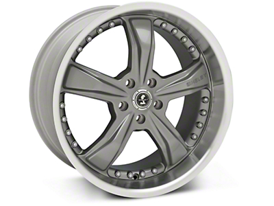 Gunmetal Shelby Razor Wheel - 20x10 (05-14 GT, V6)