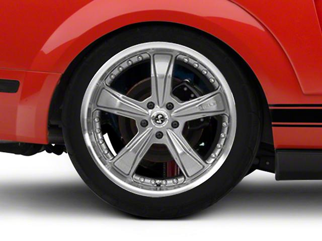 Shelby Gunmetal Razor Mustang Wheel 20x10 05 14
