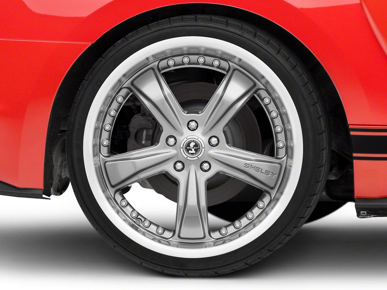 Shelby Razor Gunmetal Wheel - 20x10 (15-16 All)