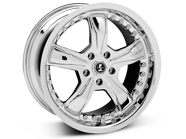 Shelby Razor Chrome Wheel - 18x9 (05-14 GT, V6)