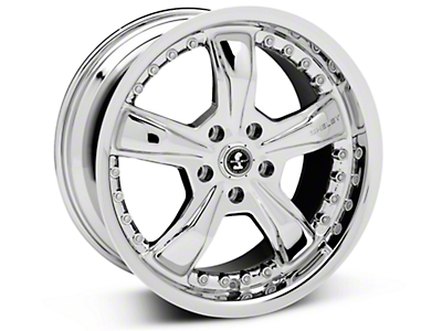 Chrome Shelby Razor Wheel - 18x9 (05-14 GT, V6)