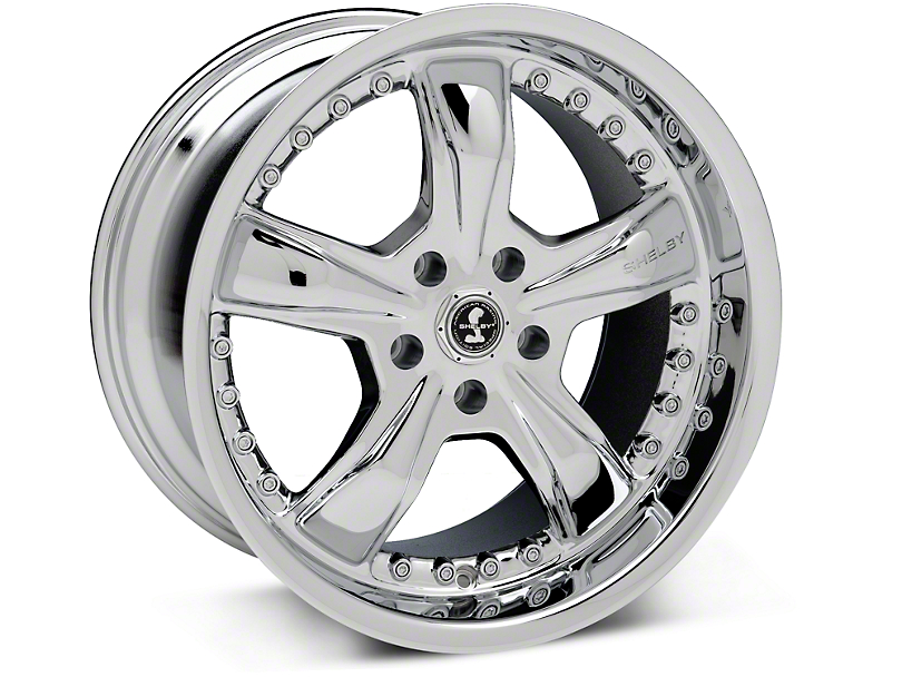 Shelby Razor Chrome Wheel - 18x10 (94-04 All)