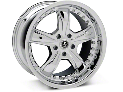 Chrome Shelby Razor Wheel 18x10 (94-04 All)
