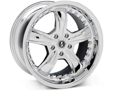 Shelby Razor Chrome Wheel - 18x10 (05-14 GT, V6)
