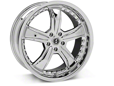 Chrome Shelby Razor Wheel - 20x9 (05-14 GT, V6)