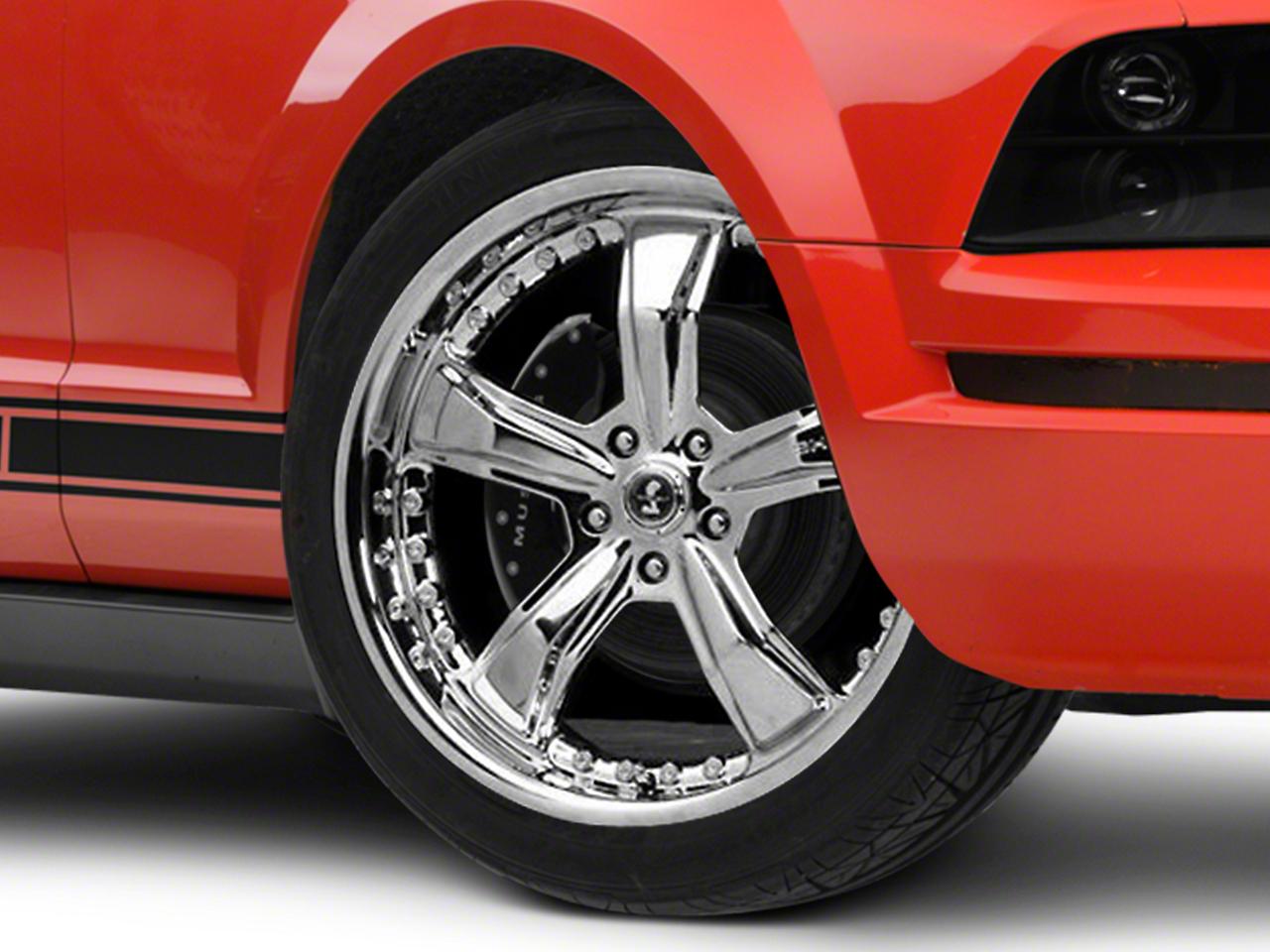 Shelby Razor Chrome Wheel - 20x9 (05-14 All)