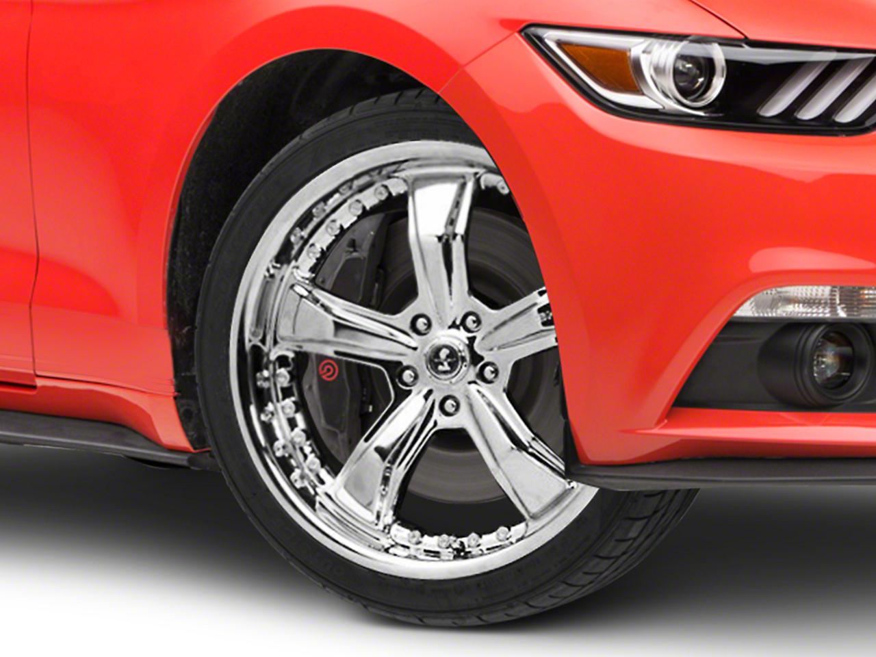 Shelby Razor Chrome Wheel - 20x9 (15-16 All)