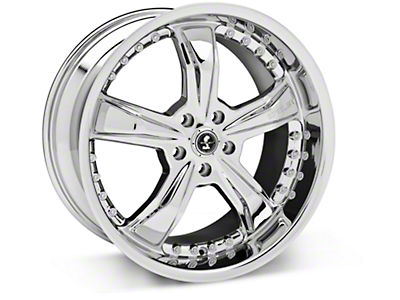 Shelby Razor Chrome Wheel - 20x10 (05-14 GT, V6)