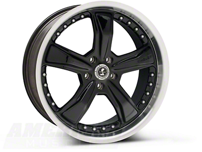 Black Shelby Razor Wheel - 20x9 (05-14 GT, V6)