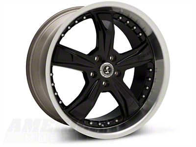 Black Shelby Razor Wheel - 20x10 (05-14 GT, V6)