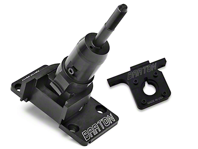 Barton Industries Short Shifter and Bracket - MT-82 (11-14 GT, V6)
