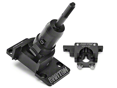 Barton Industries Short Shifter and Two-Post Bracket - MT-82 (11-14 GT, V6)