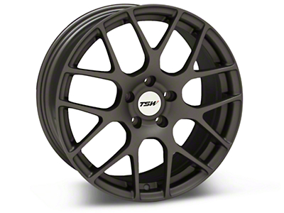 Matte Gunmetal TSW Nurburgring Wheel - 18x8 (94-04 All)