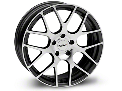 TSW Nurburgring Gunmetal Wheel - 18x8 (05-14 All)