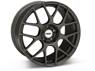 TSW Nurburgring Matte Gunmetal Wheel - 18x9 (05-14 All)