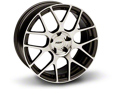 TSW Nurburgring Gunmetal Wheel - 18x9 (94-04 All)