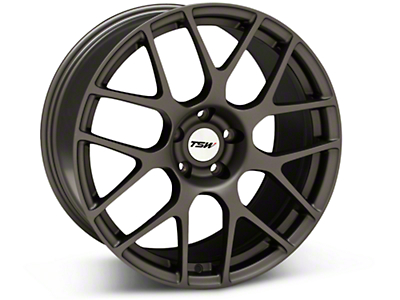 Matte Gunmetal TSW Nurburgring Wheel - 19x9.5 (05-14 All)