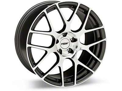 TSW Nurburgring Gunmetal Wheel - 19x9.5 (05-14 All)
