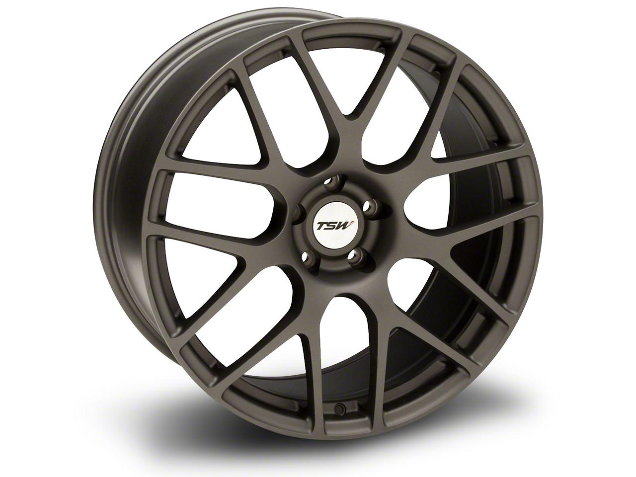TSW Nurburgring Matte Gunmetal Wheel - 20x10 (05-14 All)
