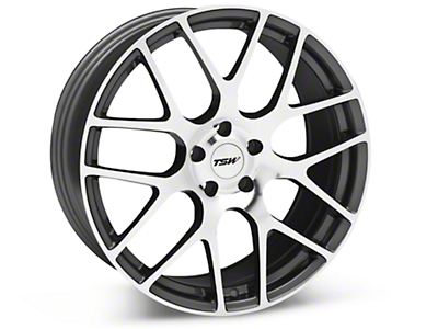 TSW Nurburgring Gunmetal Wheel - 20x10 (05-14 All)