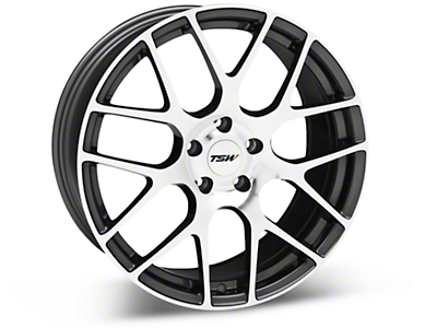 TSW Nurburgring Gunmetal Wheel - 19x8.5 (05-14 All)