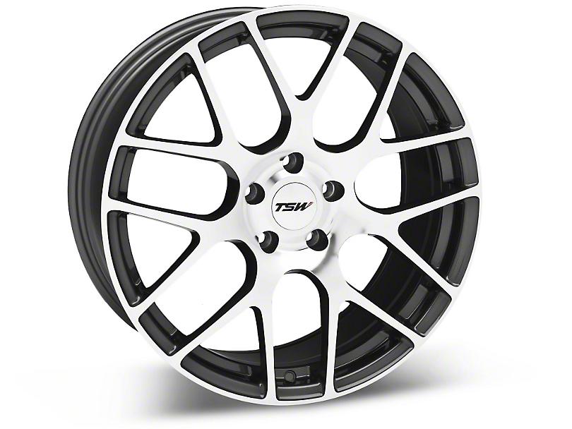 TSW Nurburgring Gunmetal Wheel - 19x8.5 (05-14 All)