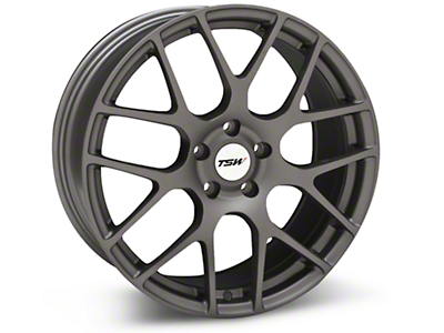 Matte Gunmetal TSW Nurburgring Wheel - 19x8.5 (05-14 All)