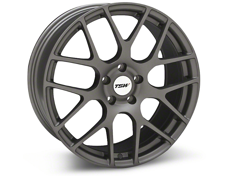 TSW Nurburgring Matte Gunmetal Wheel - 19x8.5 (05-14 All)