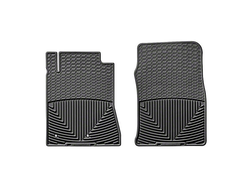 Weathertech Front All Weather Floor Mats - Black (10-14 All)