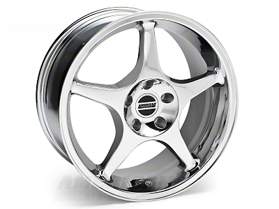 2000 Cobra R Chrome Wheel - 18x9 (94-04 All)