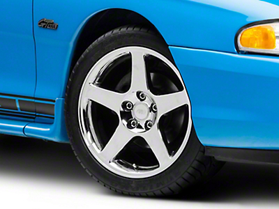 2003 Cobra Chrome Wheel - 17x9 (94-04 All)