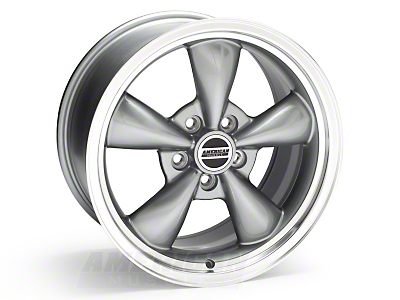 Anthracite Bullitt Wheel - 17x9 (05-10 GT; 05-12 V6)