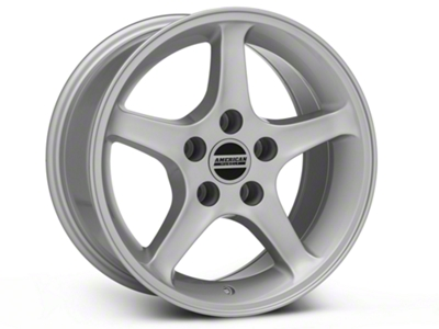 1995 Cobra R Style Silver Wheel - 16x8 (94-04 GT, V6)