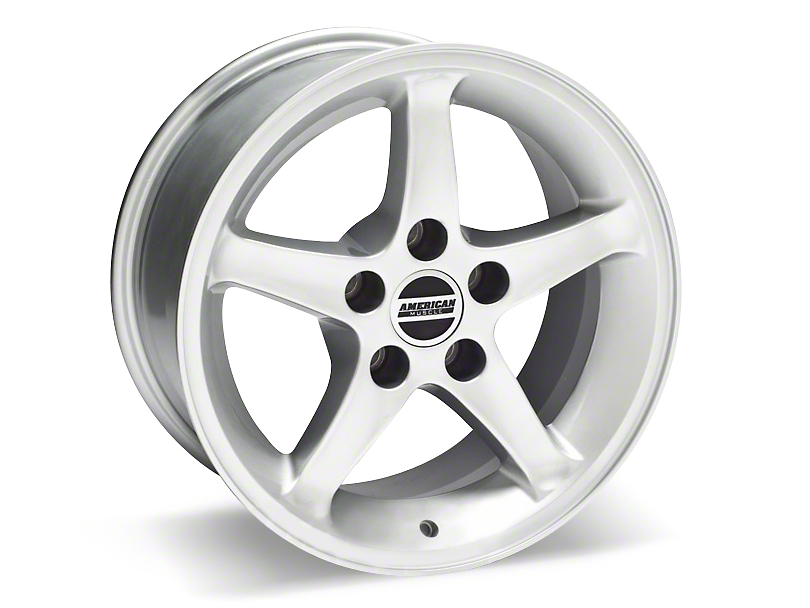 1995 Cobra R Style Silver Wheel - 16x8 (87-93 5 Lug Conversion)