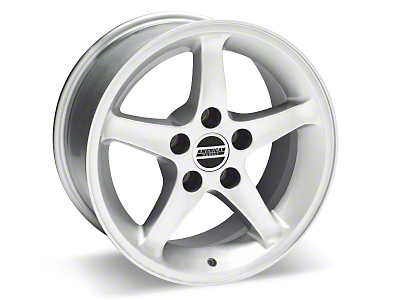 1995 Cobra R Silver Wheel - 16x8 (87-93 5 Lug Conversion)