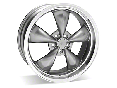 Anthracite Deep Dish Bullitt Wheel - 20x8.5 (05-10 GT, V6)