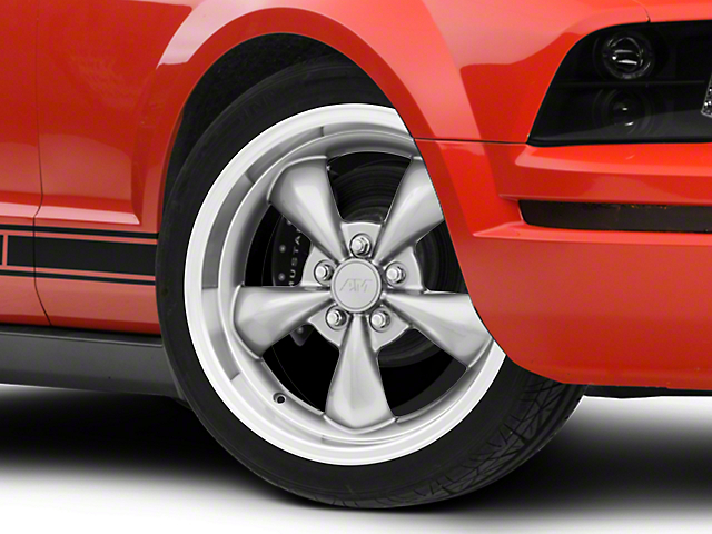 Deep Dish Bullitt Anthracite Wheel - 20x8.5 (05-14 V6; 05-10 GT)