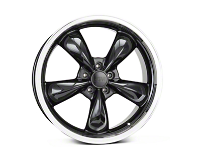 Black Deep Dish Bullitt Wheel - 20x8.5 (05-10 GT, V6)