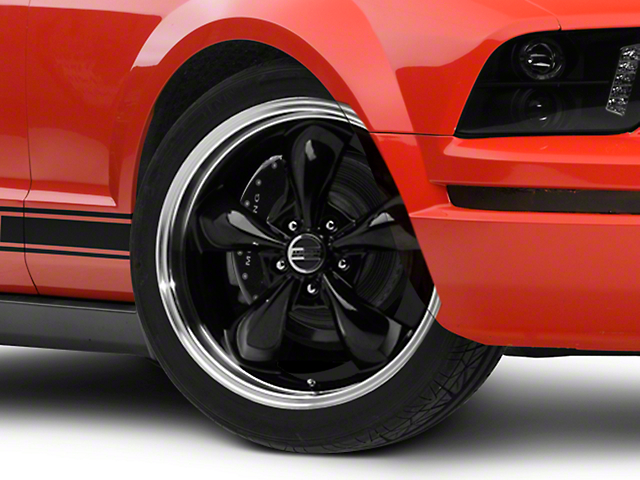 Deep Dish Bullitt Black Wheel - 20x8.5 (05-14 V6; 05-10 GT)