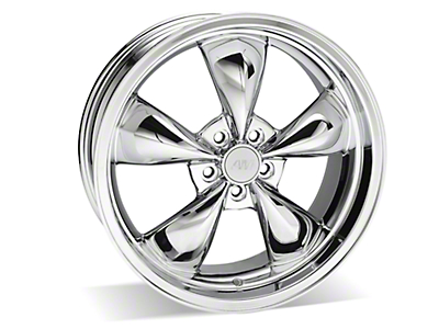 Chrome Deep Dish Bullitt Wheel - 20x8.5 (05-10 GT, V6)