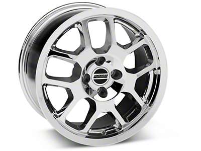Chrome 2007 Style GT500 Wheel - 17x9 (87-93; Excludes 93 Cobra)