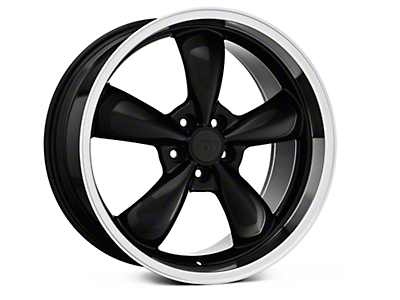 Black Deep Dish Bullitt Wheel - 20x10 (05-14 GT, V6)