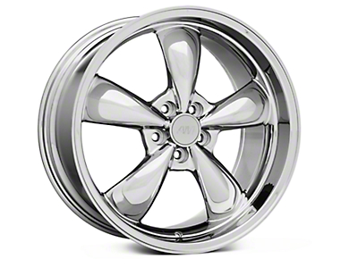 Chrome Deep Dish Bullitt Wheel - 20x10 (05-14 GT, V6)
