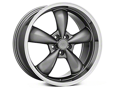 Anthracite Deep Dish Bullitt Wheel - 20x10 (05-14 GT, V6)