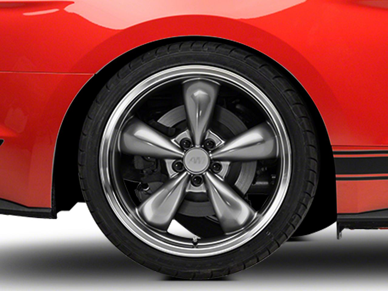 Deep Dish Bullitt Anthracite Wheel - 20x10 (15-16 V6, EcoBoost)