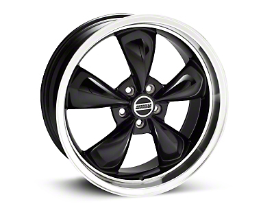 Black Deep Dish Bullitt Wheel - 20x8.5 (94-04 All)