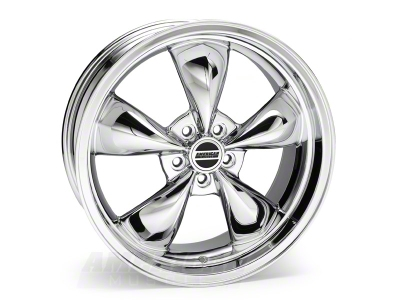 Deep Dish Bullitt Chrome Wheel - 20x8.5 (94-04 All)